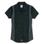 DickiesFS524 Dow Ss Clrblk Shirt