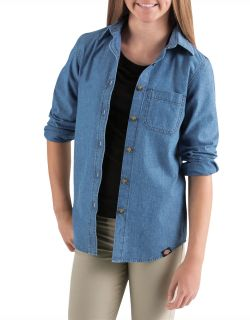 DickiesKL510 Ls Chambray Shirt
