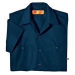 Dickies Industrial LS535 Industrial Short Sleeve Work Shirt