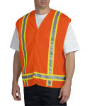 Dickies Industrial VE200 Tri-Color Mesh Vest - Class 1