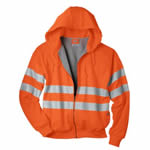 Dickies Industrial VW303 Ansi Fleece Hooded Jacket - Class 3