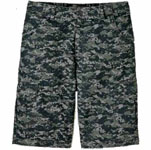 "Dickies Industrial WR551 13"" Regular Fit Printed Plaid Cargo Short"