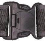 "Dutyman 750BKL 2-1/4"" Nylon Belt Buckle"