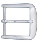 "Dutyman 9021 Square Buckle For 1-1/2"" Garrison Belt - Nickel"