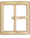 "Dutyman 9032 Center Bar Buckle For 1-3/4"" Garrison Belt - Gold"