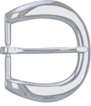 "Dutyman 9041 1-1/4"" River Belt Buckle - Nickel"