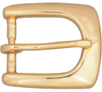 "Dutyman 9092 3/4"" Floral Ranger Belt Buckle - Gold"