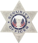Dutyman B1010G Security Officer /6 Point Star
