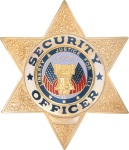 Security Officer /6 Point Star