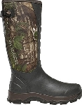"LaCrosse 376121 4x Alpha Snake Boot 16"" Realtree Xtra Green"