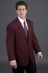 Executive Apparel 1050 Mens 2-Button Easywear Blazer