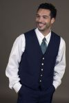 Executive Apparel 1100 Mens V Neck Ultralux Lined Vest