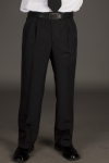 Executive Apparel 1209 Mens Pleated Front Ultralux Pants