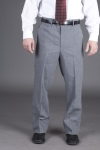 Executive Apparel 1250 Mens Tailored Front Easywear Pants