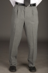 Executive Apparel 1259 Mens Pleated Front Easywear Pants