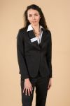 "Executive Apparel 2022 Ladies Cropped ""Juliet"" Easywear Blazer"