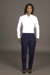 Executive Apparel 2203 Ladies Tailored Front Back Elastic New Fit Ultralux Pants
