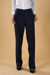 Executive Apparel 2204 Ladies Tailored Front Wide Band New Fit Ultralux Pant