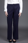 Executive Apparel 2252 Ladies Low Flat Front Boot Cut Pant Easywear Pants