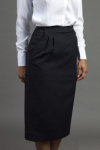 Executive Apparel 2355 Ladies Long Lined Easywear Skirt