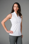 "Executive Apparel 2432 ""Antoinette"" Sleeveless Blouse"