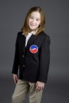 Executive Apparel 4000 Girls UltraLux Welt Pocket Blazer