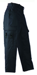 Women's Tek Twill EMS Trousers - Dark Navy