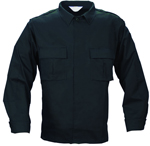 Tek Twill Long Sleeve Duty Shirt - Black