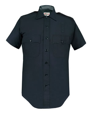 Elbeco 4237 LAPD 100% Wool Short Sleeve Shirts - Mens