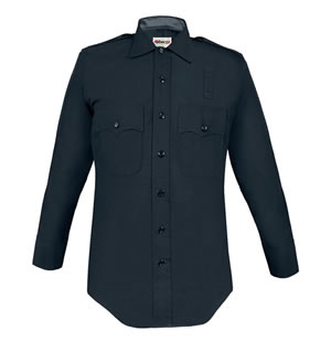 Elbeco 437 LAPD 100% Wool Long Sleeve Shirts - Mens