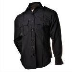Elbeco 850N Distinction Long Sleeve Plain Pocket Shirts - Mens