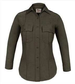 Elbeco 8802LC TexTrop2 Long Sleeve Shirt with Hidden Zipper - Womens