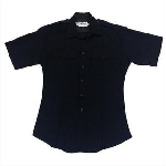 Elbeco 9850LCN Distinction Plain Pocket Short Sleeve Shirts - Womens