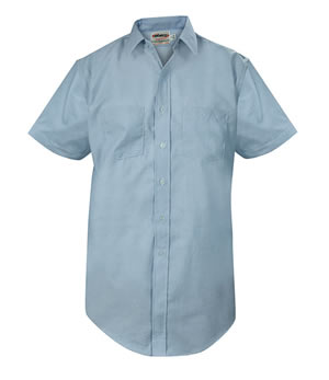 Elbeco CA03 Express Dress Short Sleeve Shirts - Mens