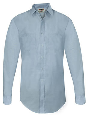 Elbeco CA23 Express Dress Long Sleeve Shirts - Mens
