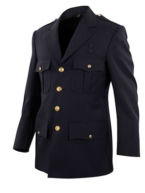 Elbeco DC13800 Top Authority Blousecoats - Single-Breasted 4 Pocket