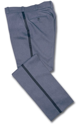 Elbeco E1320R Letter Carrier Heavy Weight Pants with Blue Stripe - Mens