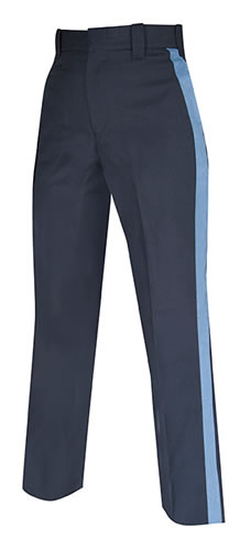 Elbeco E8907RN Top Authority Pants with French Blue Stripe - Mens