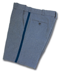 Elbeco E8970 Comfort Cut Walking Shorts with Navy Stripe - Mens