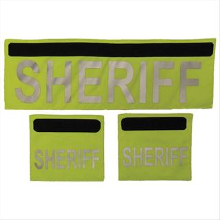 Elbeco F3230SH Shield ID Panels - SHERIFF