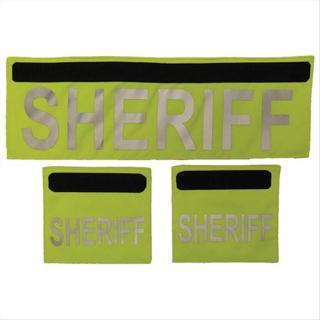 Elbeco F3236SH Shield ID Panels - SHERIFF