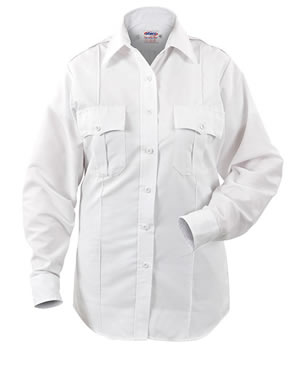 Elbeco P801LC Paragon Plus Poplin Long Sleeve Shirt - Womens