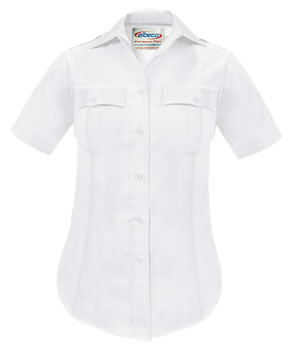 Elbeco P811LC Paragon Plus Poplin Short Sleeve Shirt - Womens