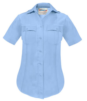 Elbeco P812LC Paragon Plus Poplin Short Sleeve Shirt - Womens
