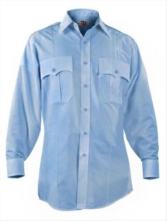 Elbeco P824 Paragon Plus Poplin Long Sleeve Shirt - Mens