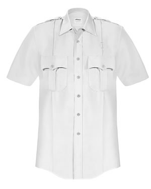 Elbeco P867 Paragon Plus Poplin Short Sleeve Shirt - Mens