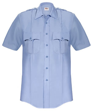 Elbeco P868 Paragon Plus Poplin Short Sleeve Shirt - Mens