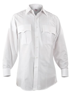 Elbeco P877 Paragon Plus Poplin long Sleeve Shirt - Mens