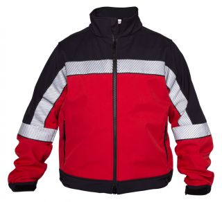 Elbeco SH3704RN Shield Soft Shell Red/Navy Colorblock Jacket