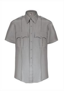 Elbeco Z3311N TexTrop2 Short Sleeve Shirt with Hidden Zipper - Mens